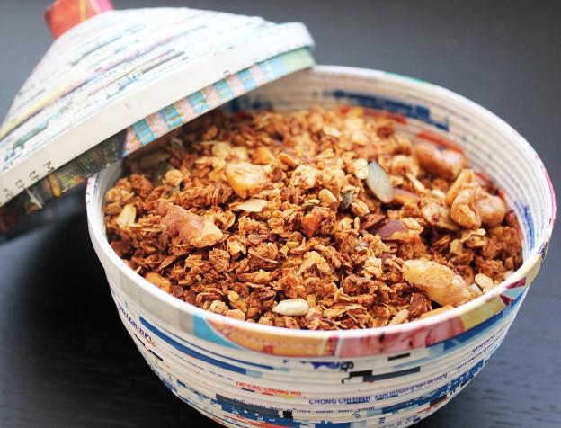recept gezonde granola