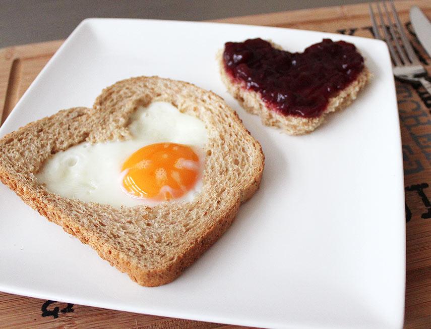 ontbijt valentijn