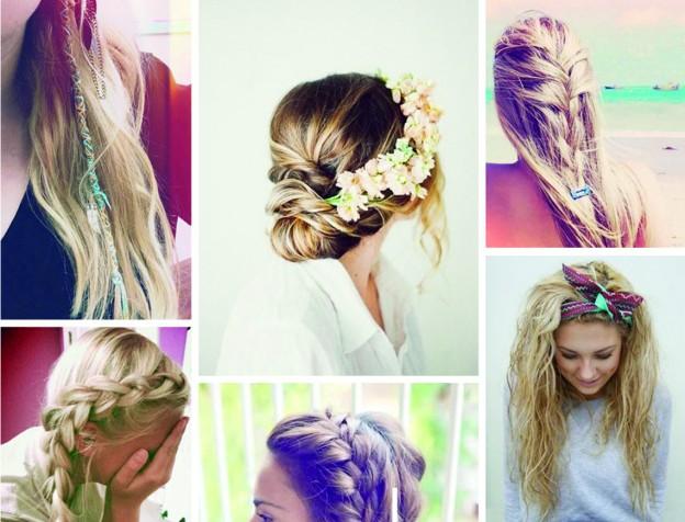 Beach hair inspiratie zomer 2015