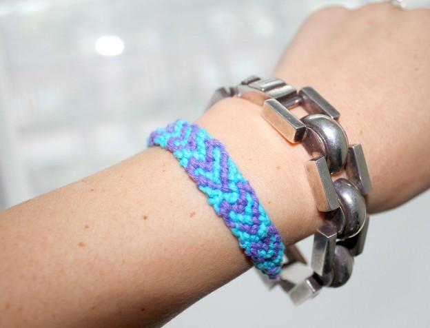 boho armbandje - DIY vriendschapsarmbandje