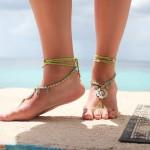 trend 2015 - boho - barefoot sandals