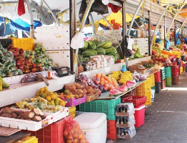 drijvende markt punda curacao.