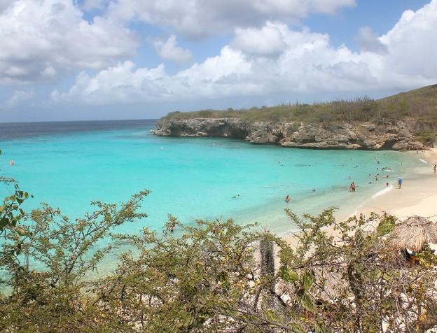 stranden Curacao grote knip