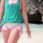 strand curacao outfit fashion blogger.