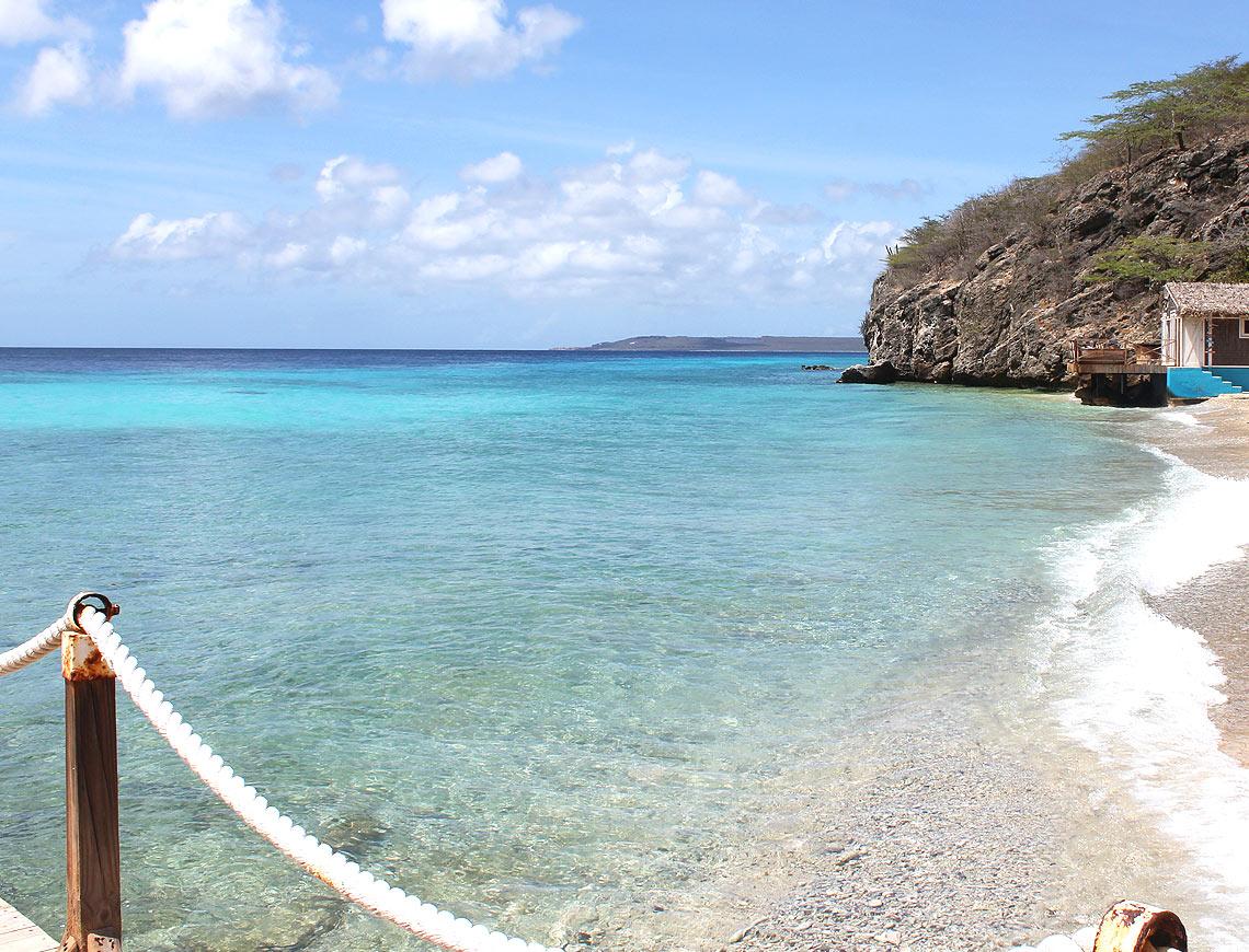 kokomo beach Curacao - mooiste stranden Curacao
