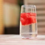 watermeloen ijsklontjes maken