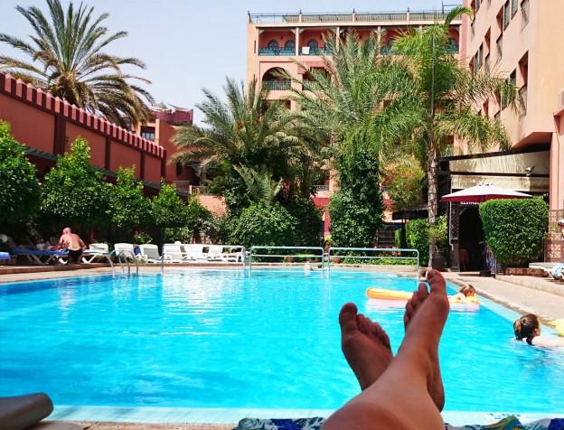 Ervaring diwane hotel marrakech