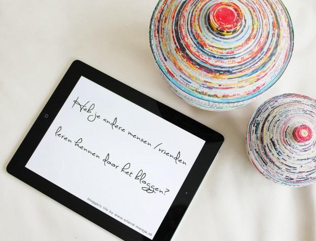 bloggers ontmoeten - mensen / vrienden leren kennen door je blog