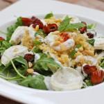 Recept geitenkaas couscous salade