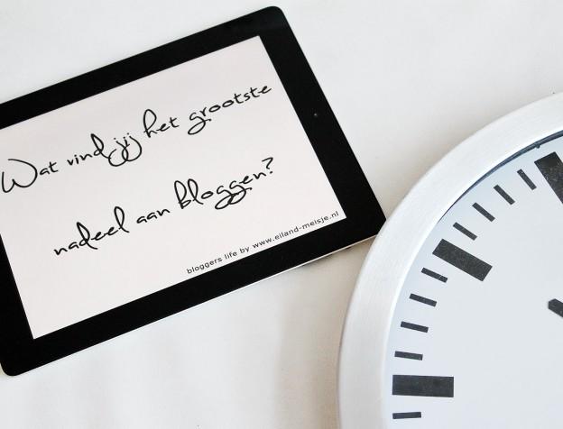 nadelen aan bloggen