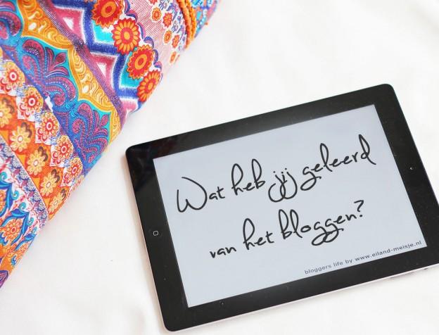 Dingen leren van het bloggen