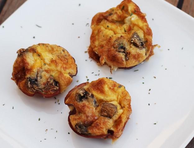 recept ei muffins uit de oven