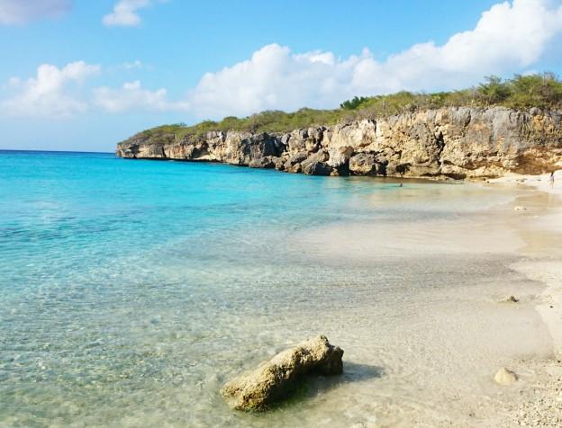 kleine knip curacao - strand