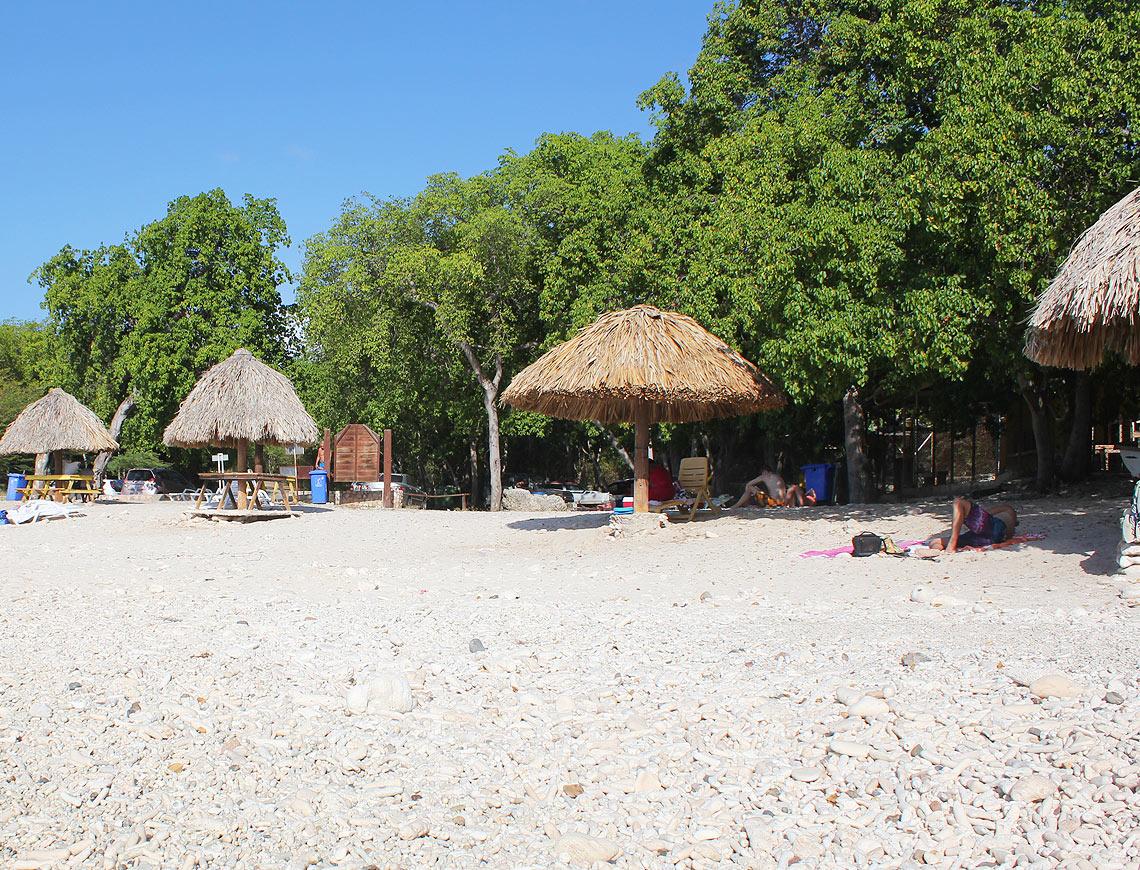 strand kleine knip curacao