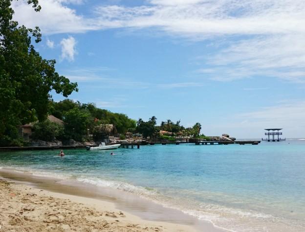 pirates bay curacao - strand
