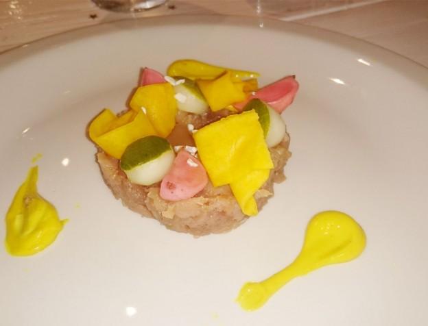 bij blauw curacao - restaurant review / ervaring