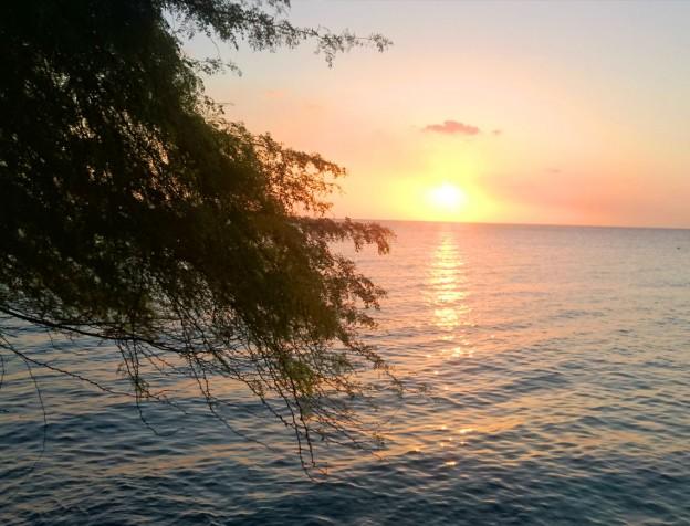 zonsondergang kokomo beach curacao