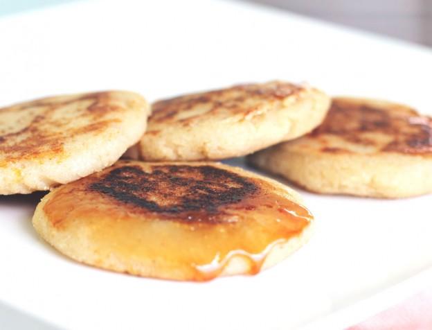 Recept: Arepa gevuld met jam