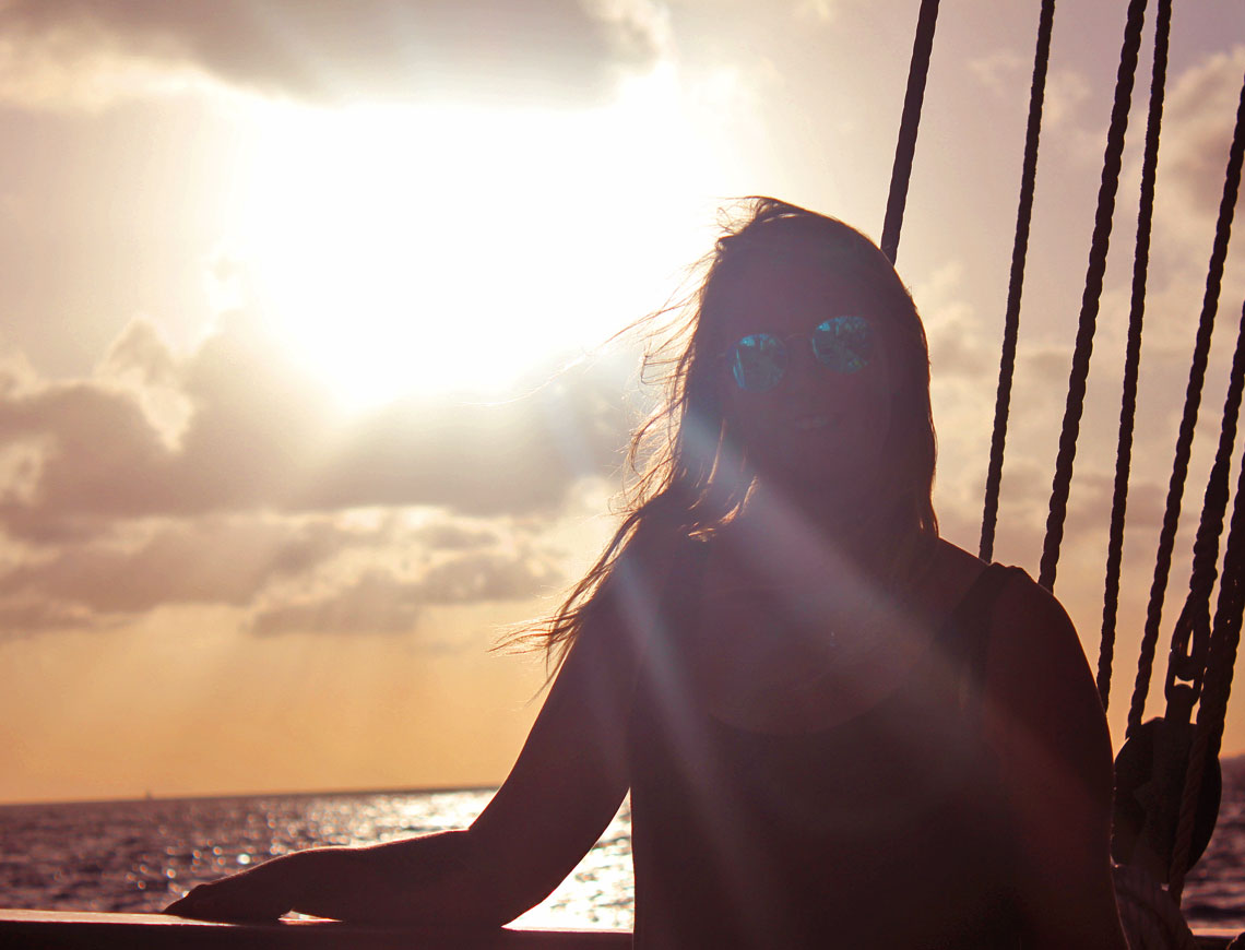 sunset trip Curacao | Insulinde
