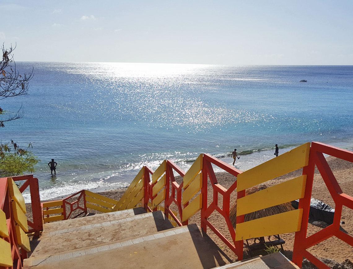 playa forti - Westpunt Curacao - stranden Curacao.