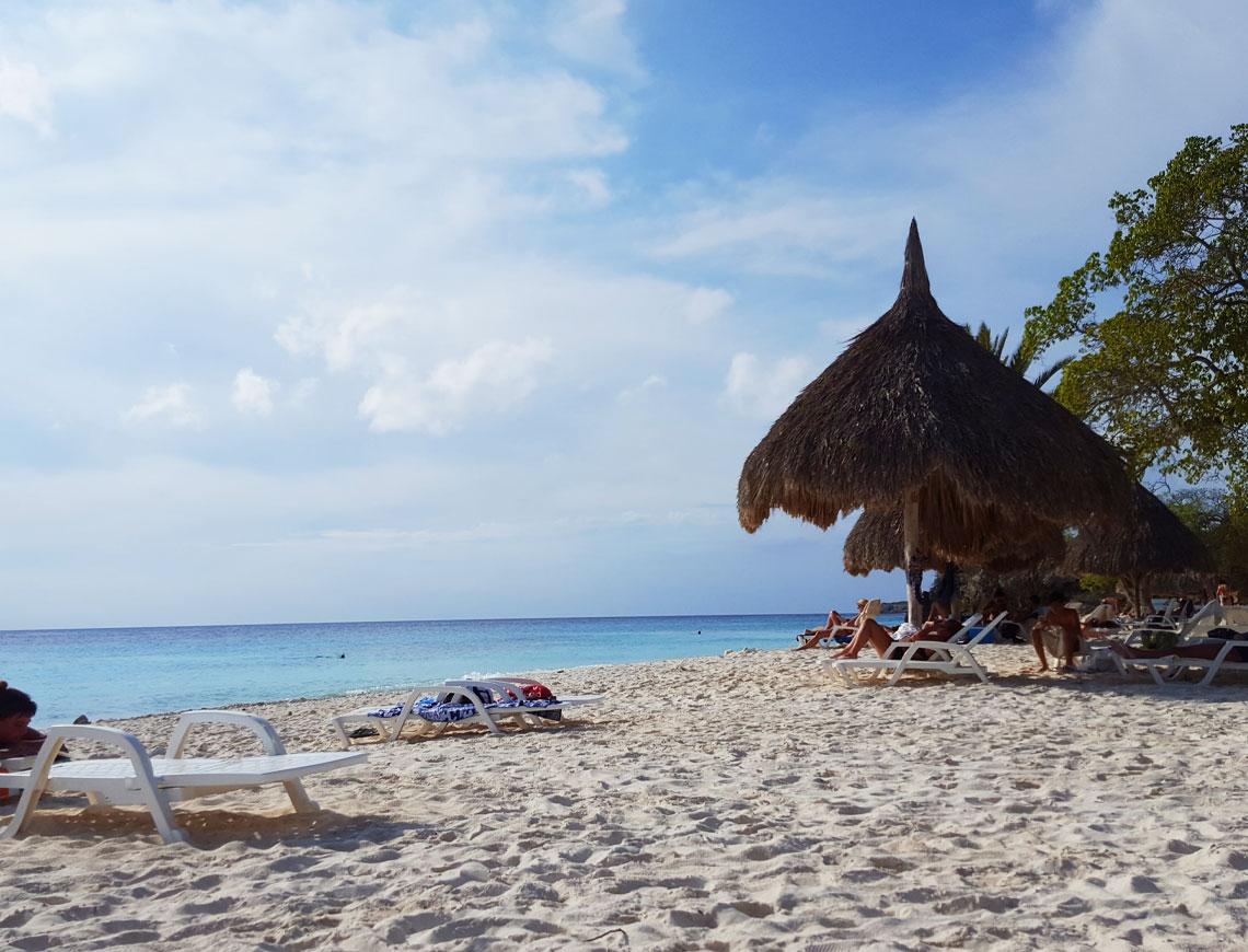 Cas Abou Curacao strand