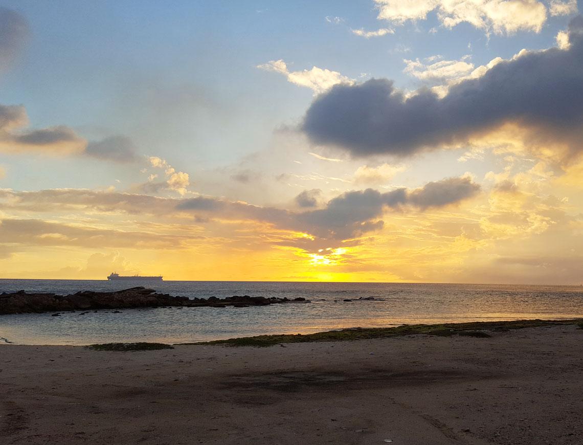 zonsondergang-curacao