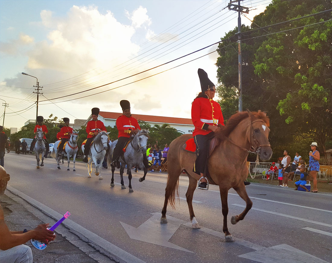 paarden parade curacao