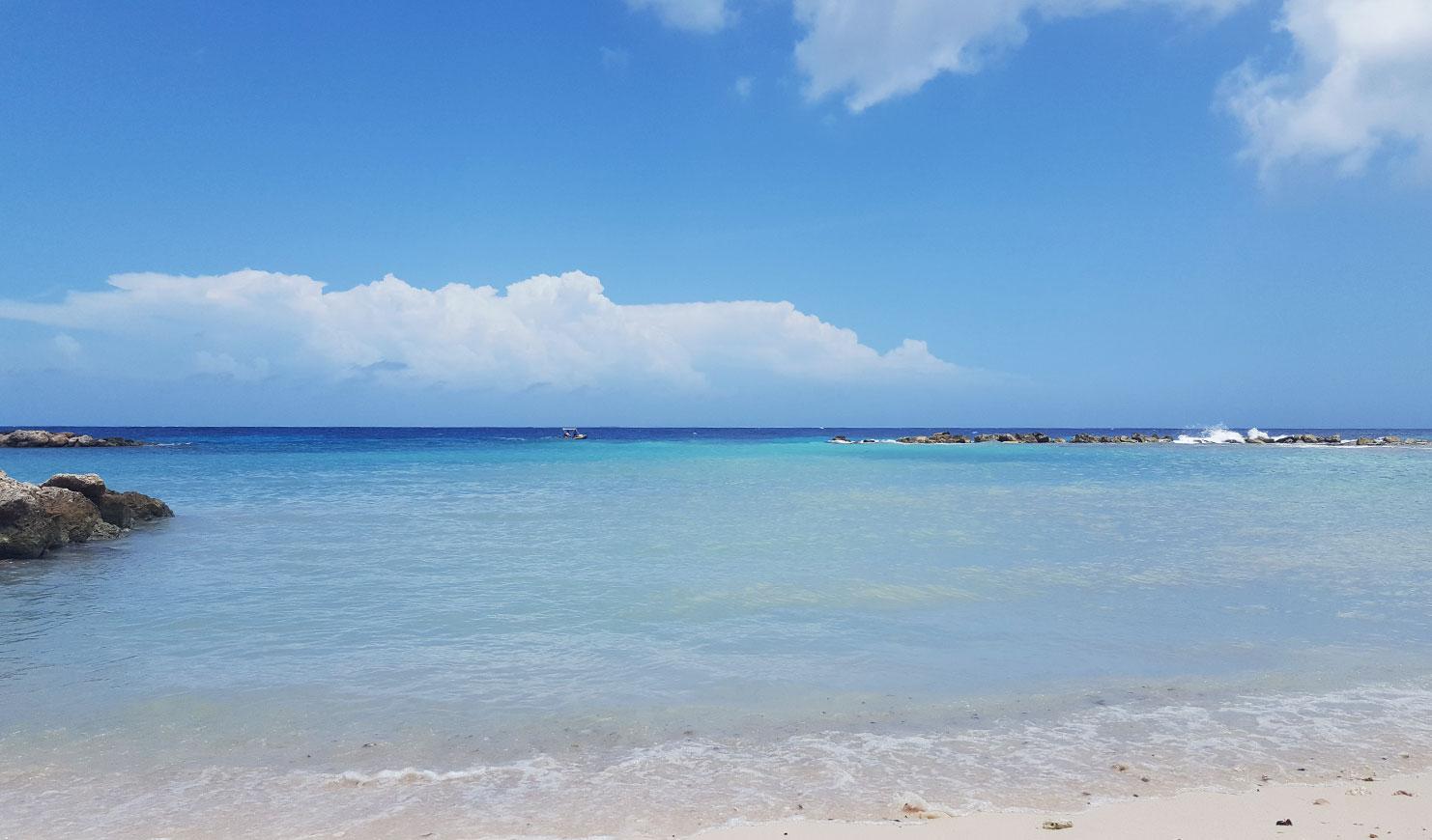 parasasa beach curacao strand.