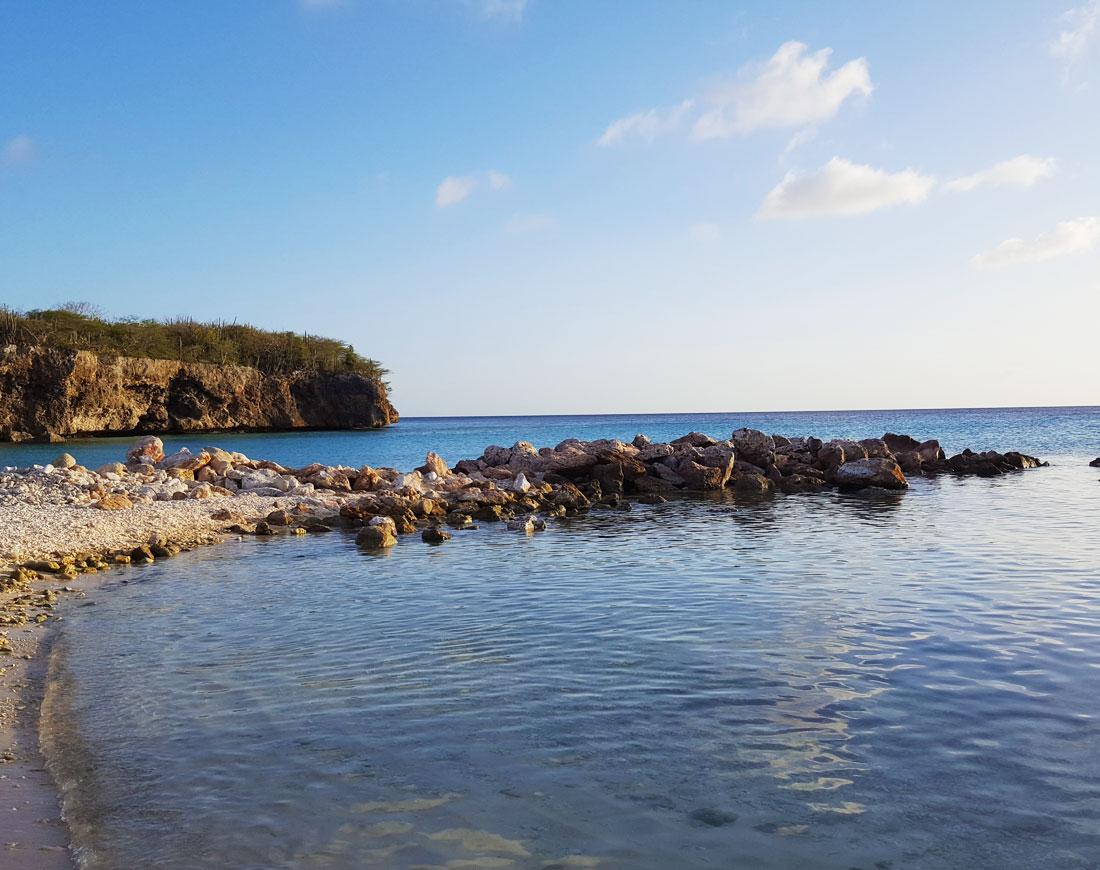 daaibooi Curacao strand.