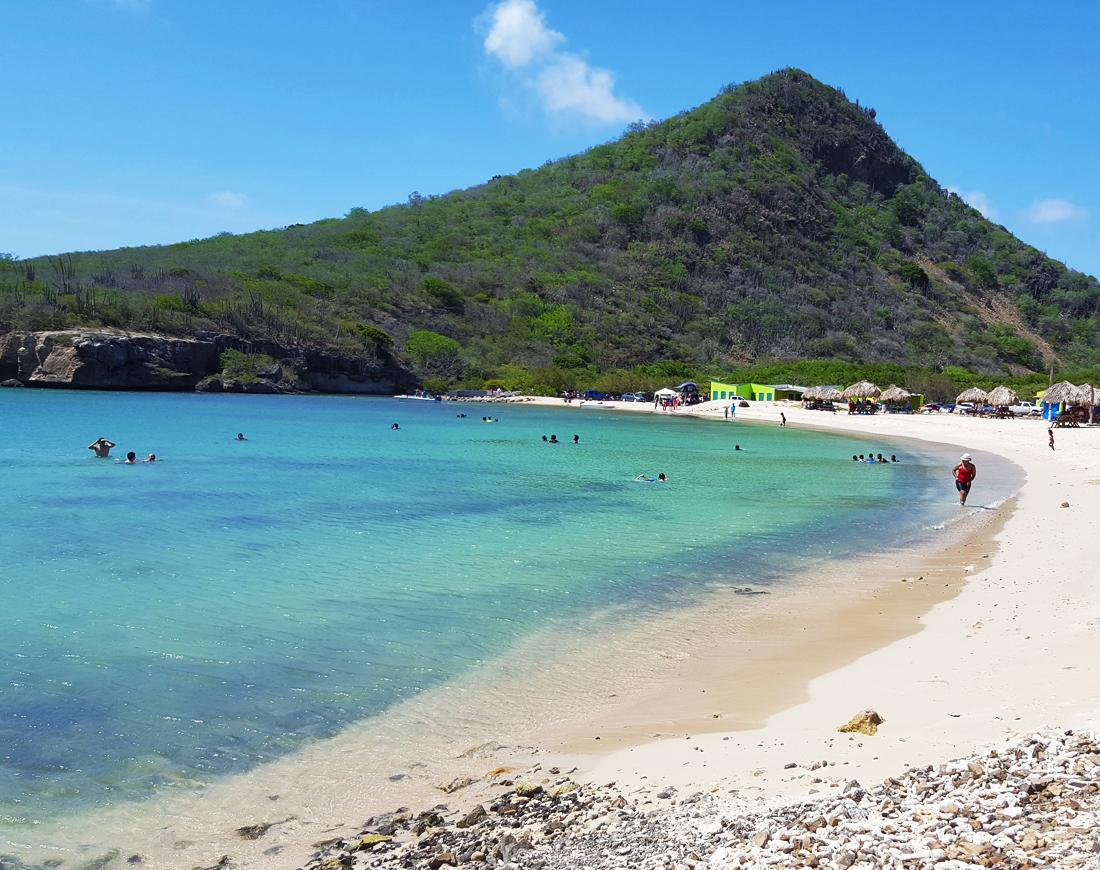 Playa Santa Cruz | strand Curacao