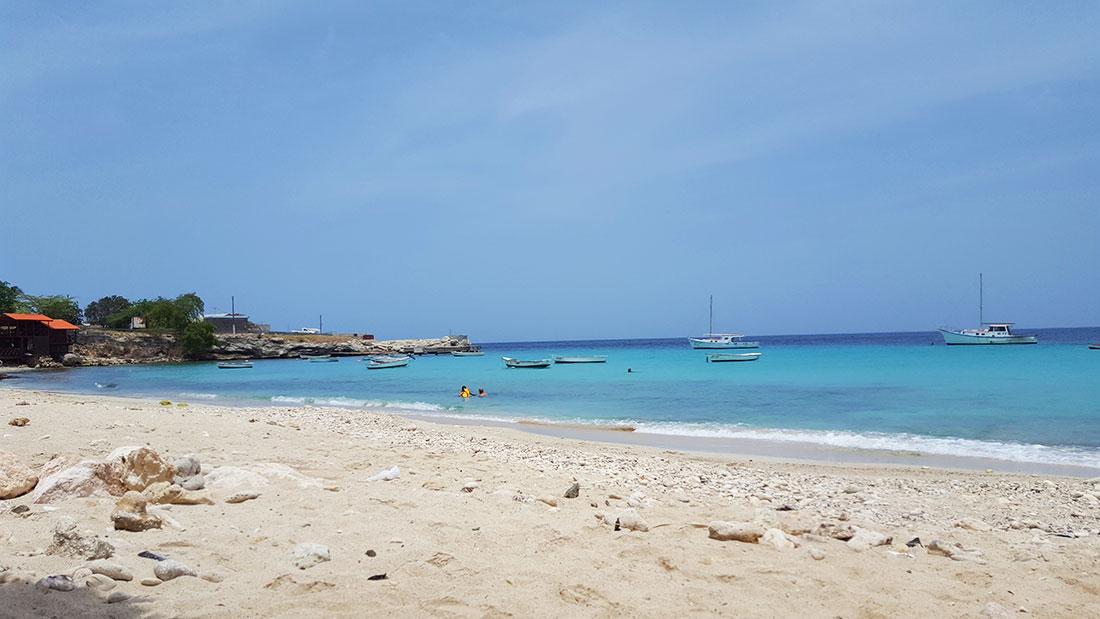 boca sami strand Curacao.