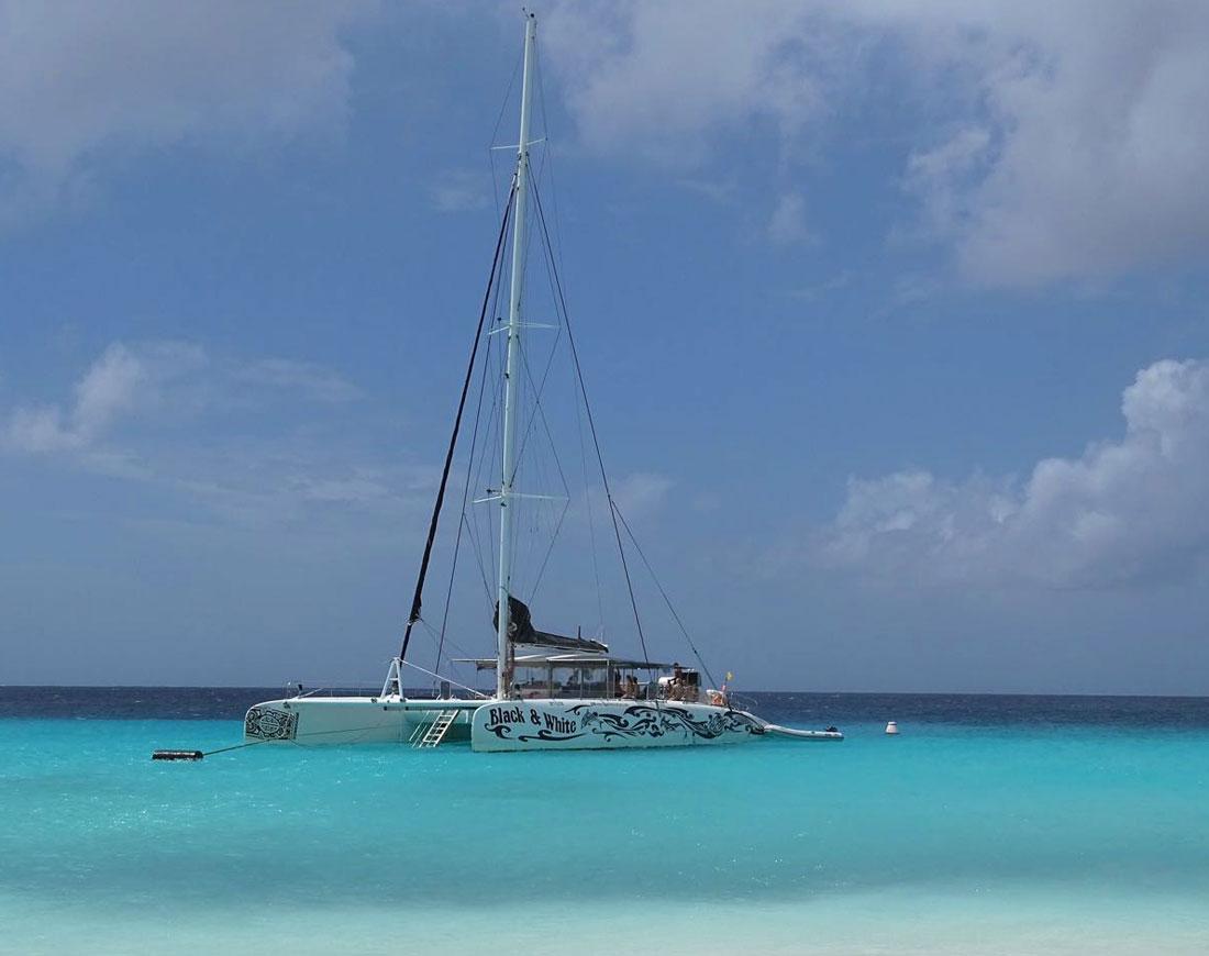 Boot trip Klein Curacao