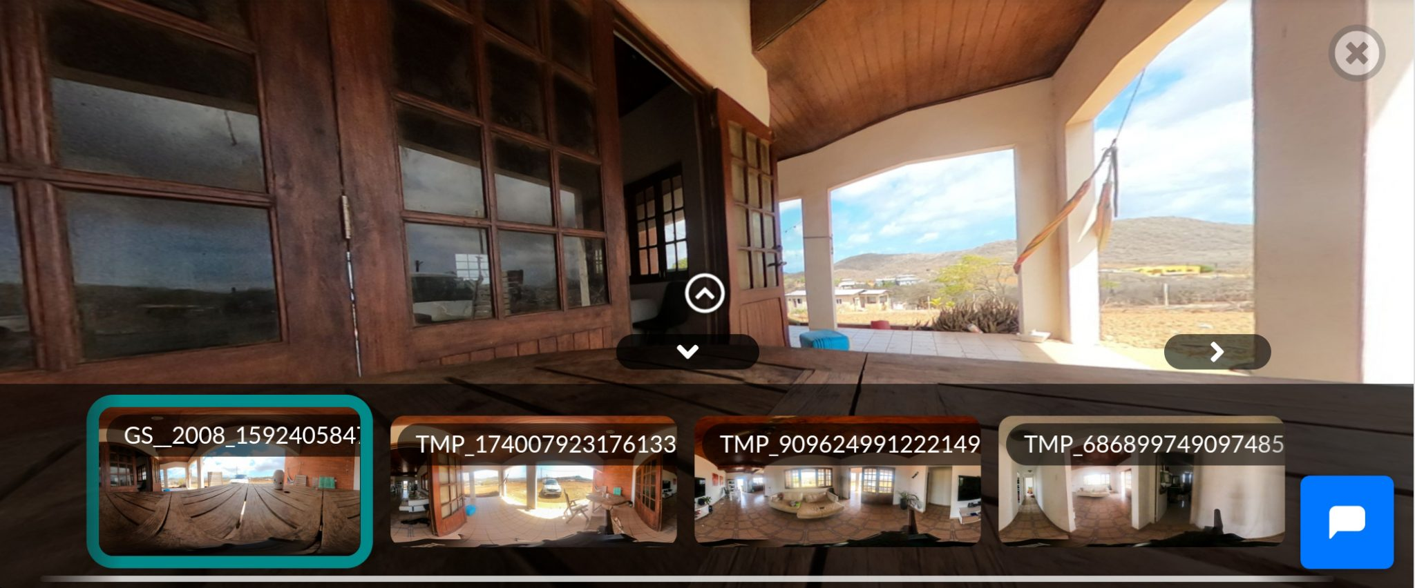 360 virtual tour Curacao woning.