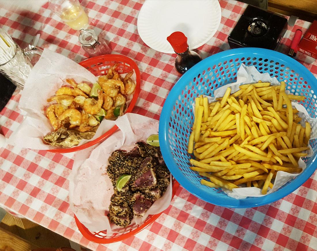 Visserij Curacao restaurant
