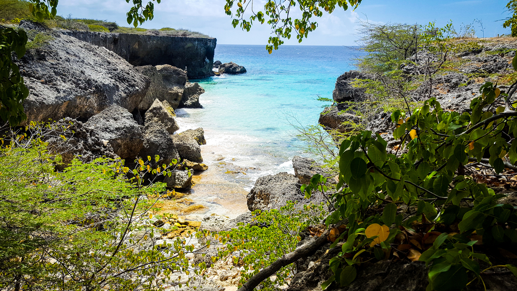 playa guepi curacao