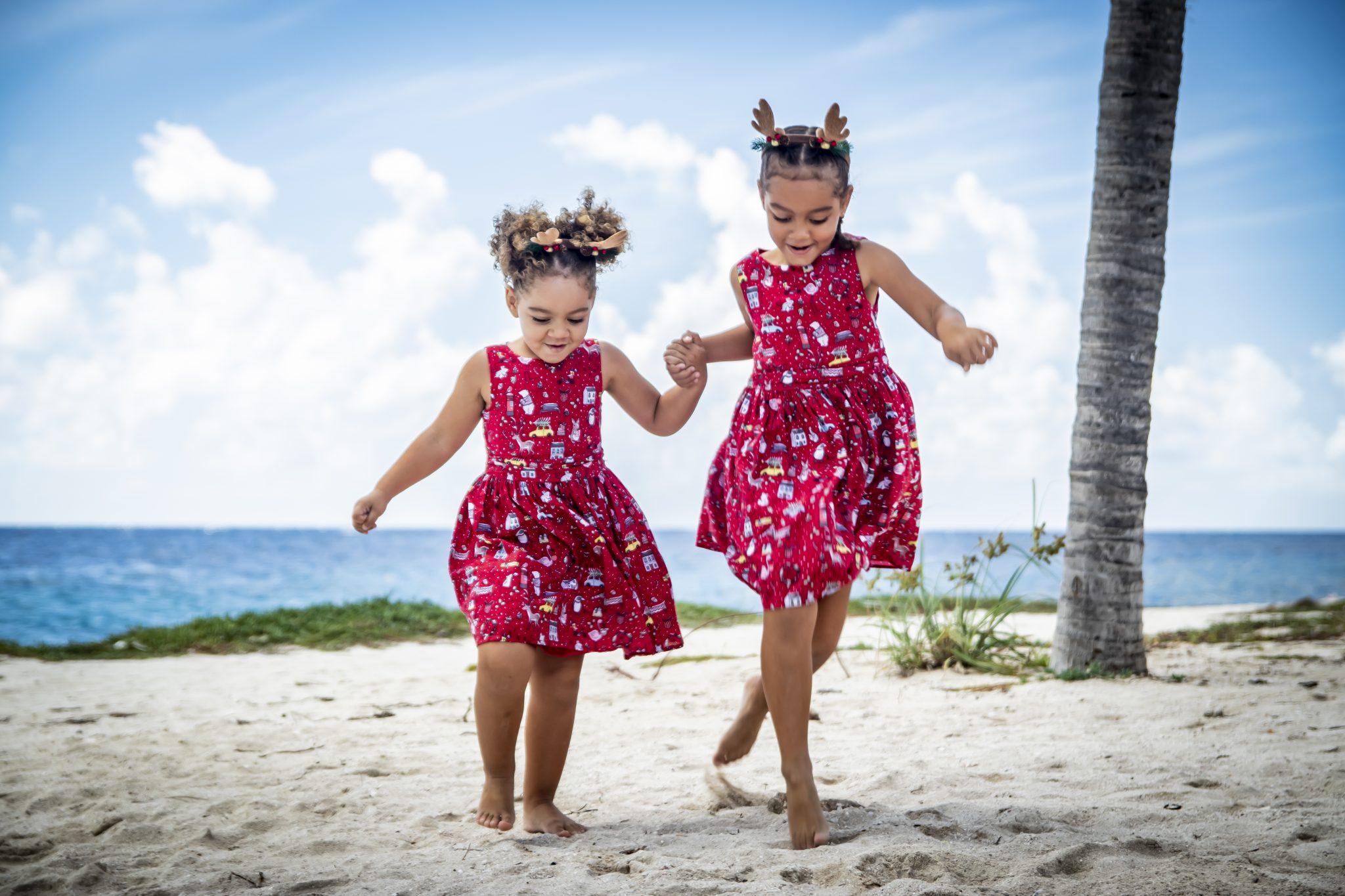 familie fotograaf curacao   strand shoot