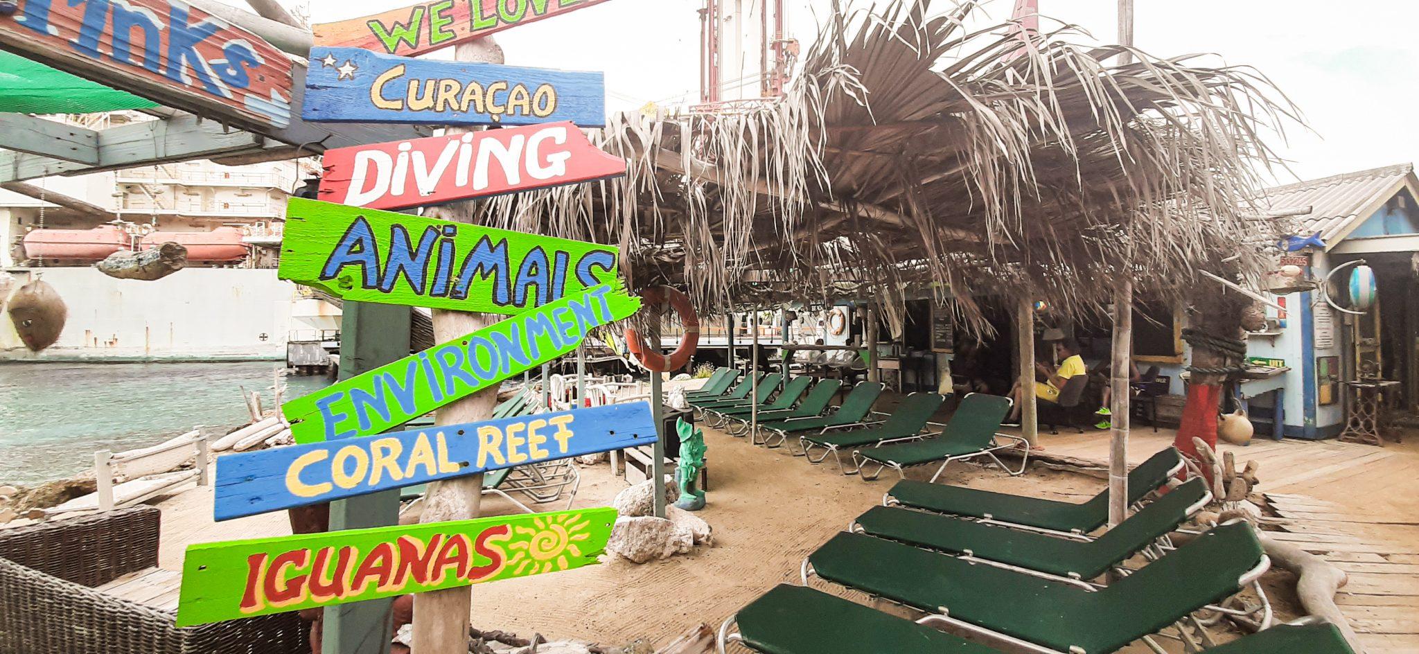 tugboat beach curacao